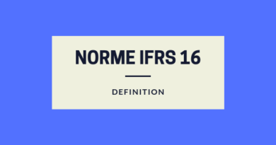 norme IFRS 16 définition